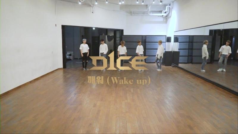 디원스(D1CE) 깨워 (Wake up) 안무 영상 (Dance Practice)