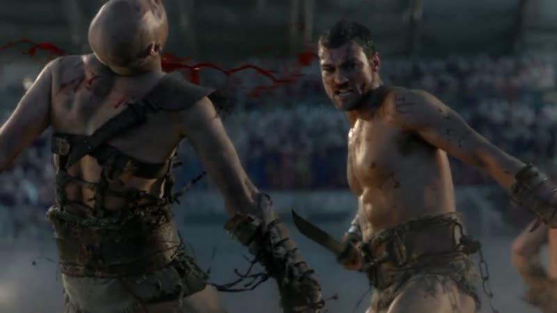 Спартак кровь и песок Спартак и Варрон против гладиаторов