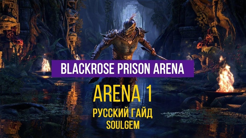 вет Blackrose Prison Soulgem Guide Arena 1 Руссkий Гaйд