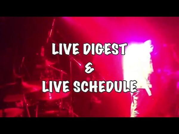 10/22 @アメ村DROP LIVE DIGEST LIVE SCHEDULE