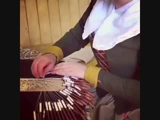 Плетение на коклюшках завораживающий процесс