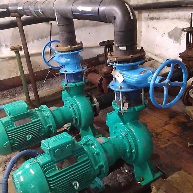 Монтаж энергоэффективных насосных агрегатов п.г.т. Умба