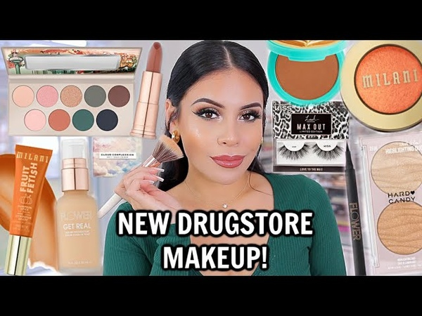 NEW DRUGSTORE MAKEUP TESTED FULL FACE OF FIRST IMPRESSIONS *amazing affordable makeup*