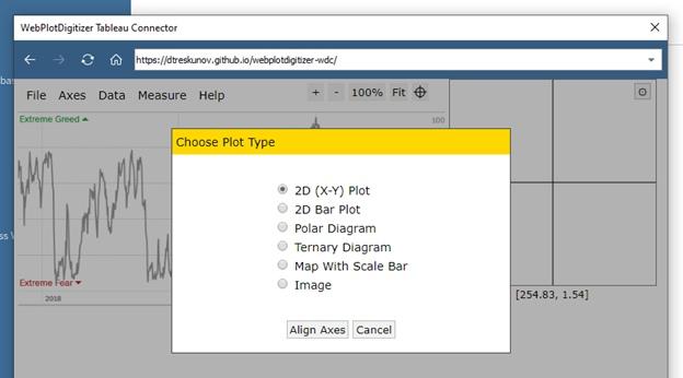 Извлечение данных из графиков при помощи Tableau Web Data Connector (WDC) на примере анализа индекса страха и жадности (Fear and Greed Index), изображение №7