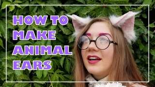 How to Make Realistic Animal Ears + Free PDF Template (NO SEWING METHOD)
