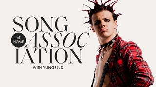 YUNGBLUD Sings Willow Smith, Billy Joel, and James Blunt in a Game of Song Association | ELLE