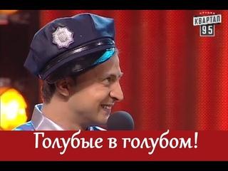 Зеленский играет гея!   ПРИКОЛЮХА - сотрудник ГАИ пристает к водителю!