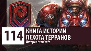 История StarCraft: Пехота Терранов - Морпех, Мародер, Медик, Головорез (История Юнитов)
