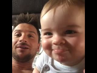 Сергей Лазарев показал забавное архивное видео с сыном Никитой