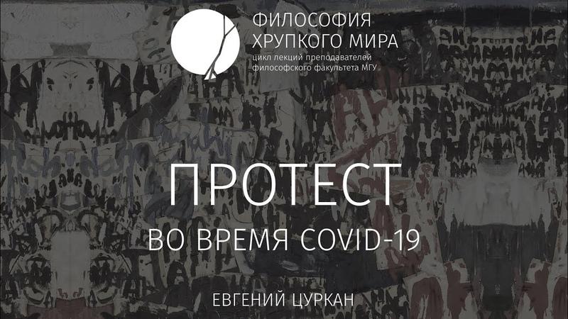 Философия хрупкого мира Протест во время Covid-19