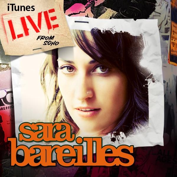 Sara Bareilles album iTunes Live from Soho