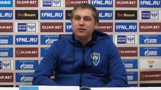 Оренбург - Нижний Новгород 2-1. Пресс-конференция Роберта Евдокимова