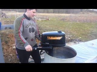 Обкатка лодочного мотора yamabisi t4 bms