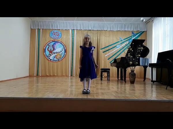 Бадикова Анна Звездочка моя сл и муз Н Сафоничевой