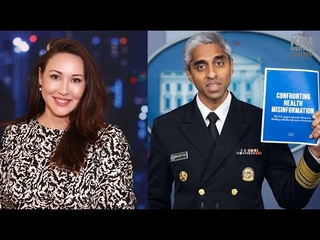 US Surgeon General Calls For Big Tech CENSORSHIP Of Information