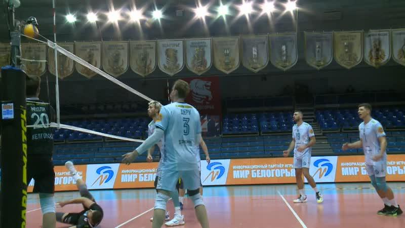 Волейбол Белогорье Динамо Москва лучшие моменты