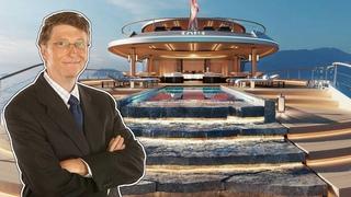 Как Живет Билл Гейтс и Куда Тратит Свои Миллиарды