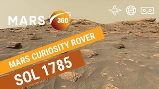 Mars 360: NASA's Mars Curiosity Rover - Sol 1785 (360video 8K)