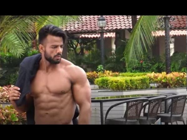 Bodybuilder Siddhant Jaiswal fitness model new photoshoo