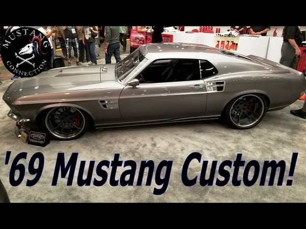Goolsby's Customs 1969 Mustang Sportsroof custom from SEMA 2016 Tim talks Mustang and