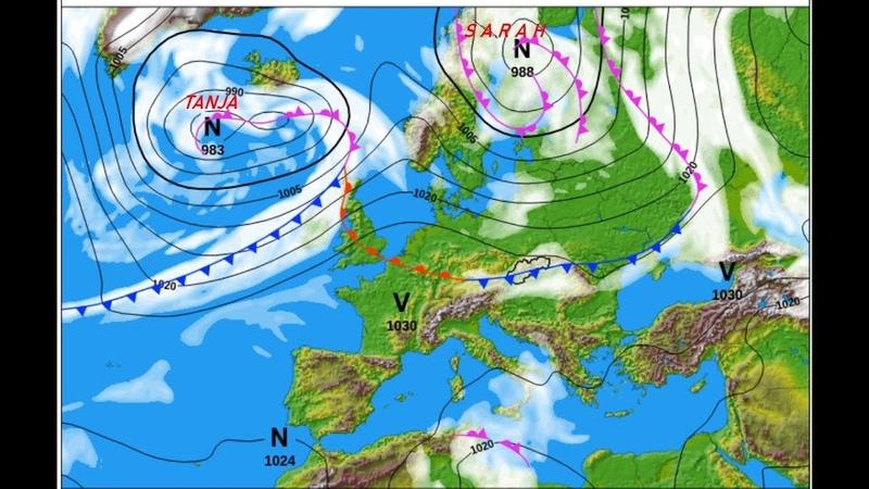 Магнитная буря и ее последствия Циклон Сара принесет дожди и потепление в Восточную Европу