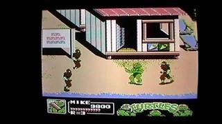 Teenage Mutant Ninja Turtles 3 - The Manhattan Project On A PAL NES