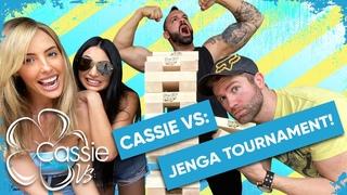 # | Cassie Vs: Jenga Tournament! Starring J. McKay, Spears & Strewth!!!!