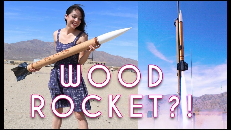 Building a Giant Wooden Rocket in 5 Days