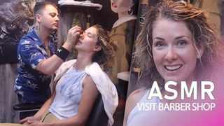 ASMR Female Massage - You Will Sleep During This Treatment In Barber Shop