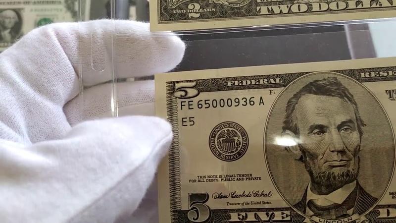 Моя коллекция 12 литер резервных банков на долларах США Dollars USA