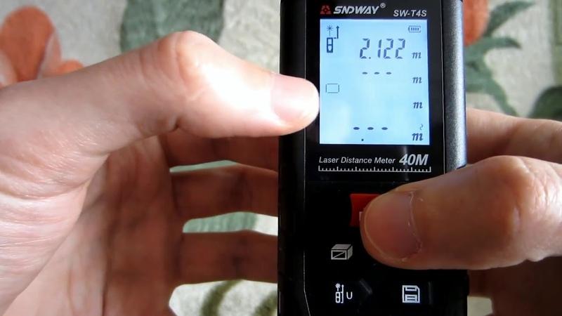 Laser Roulette Range Finder SNDWAY SW T4S Laser Distance Meter
