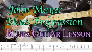 John Mayer 'I'm Gonna Find Another You' Blues Progression (With Tab)   Watch and Learn Guitar Lesson