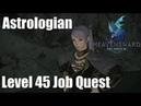 Ewer Right Level 45 Astrologian Job Quest Final Fantasy XIV Heavensward