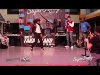Super Funky Vol.3 Hiphop Semi Final Nene VS. Sylencer VS. Short Circuit