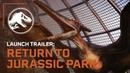Jurassic World Evolution: Возвращение в Парк Юрского Периода Трейлер