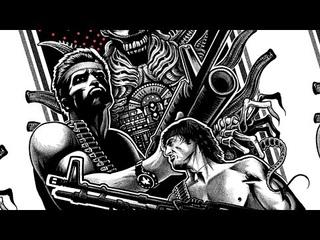 Contra fury 4  spirit of alien war attack of cyber thunder predator Полный фильм