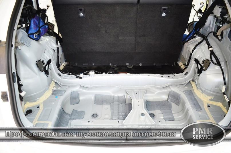 Комплексная шумоизоляция Lexus NX 200, изображение №9