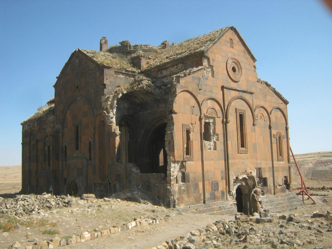 развалины Ани из Армении