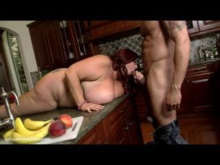 Peaches Larue - Zucchini Sex BBW