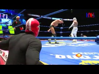 IWU Prince Devitt vs. Volador Jr. - CMLL Super Viernes
