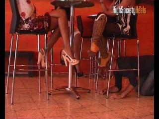 3 Girls & Slave  ( v3-1) Лучшее ФЕМДОМ видео и фото в группе  и на сайте http://fem-dom
