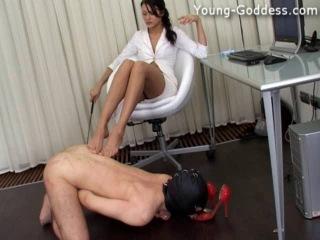 Priscilla - Web - Young-Goddess*com - Anya Office''Лучшее ФЕМДОМ видео и фото в группе  и на сайте http://fem-dom