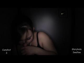 : Priscila - Priscila's 1st Gloryhole Visit (2014) HD