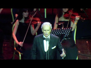 Josep carreras. live in moscow 14.03.2014 - the impossible dream