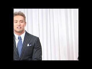 [#My1] Реакция Казучики Окады на речь Тору Яно на пресс-конференции, посвященной NJPW G1 Climax 24