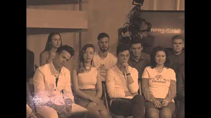 Команда Let's do it, Ukraine в гостях у ПравДиво Шоу з Євою Бажен