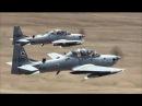 Embraer EMB 314 A 29 Super Tucano turboprop aircraft designed aerial reconnaissance