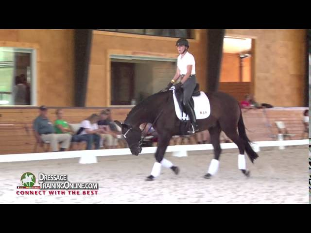 Dressage Training with Nicholas Fyffe on the Stretchy Trot and Clean Changes