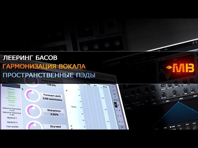 Лееринг Басов/Гармонизация вокала/Пространственные пэды [А.Разумов]