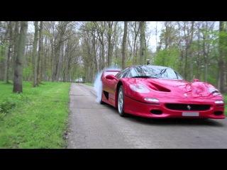 Ferrari F50 Burnout!